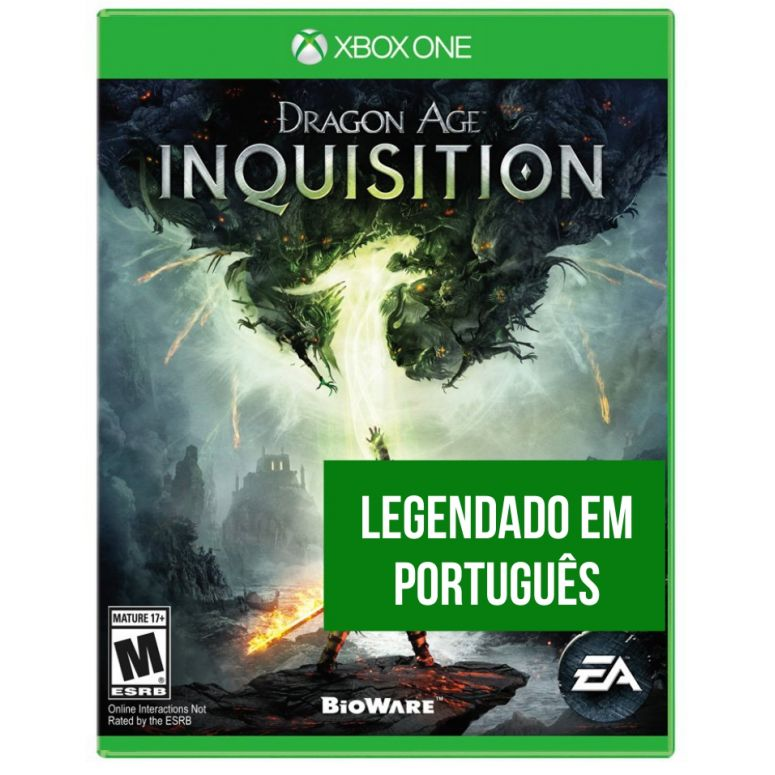 Dragon Age Inquisition (Seminovo) - XBOX One - FastGames - Gamers levados a sério