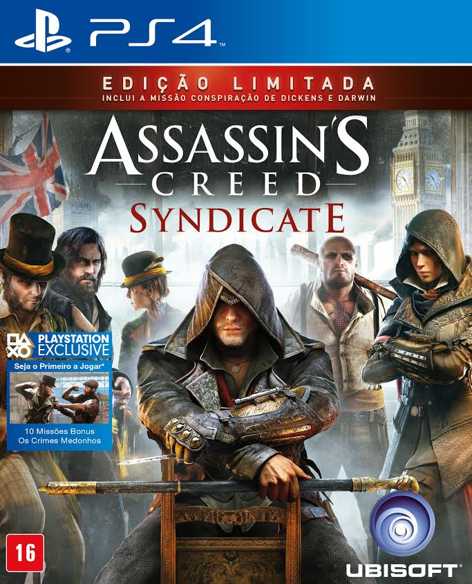 Assassins Creed Syndicate - PS4  - FastGames - Gamers levados a sério