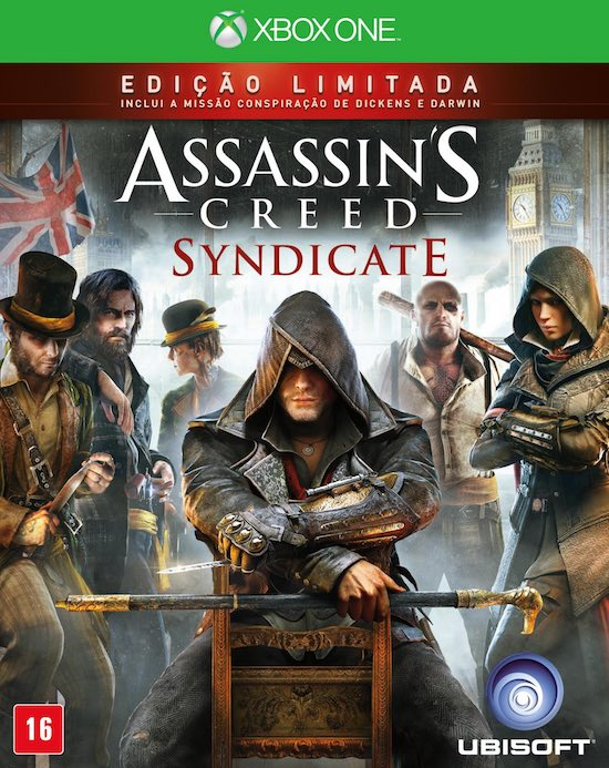Assassins Creed Syndicate - XBOX One  - FastGames - Gamers levados a sério