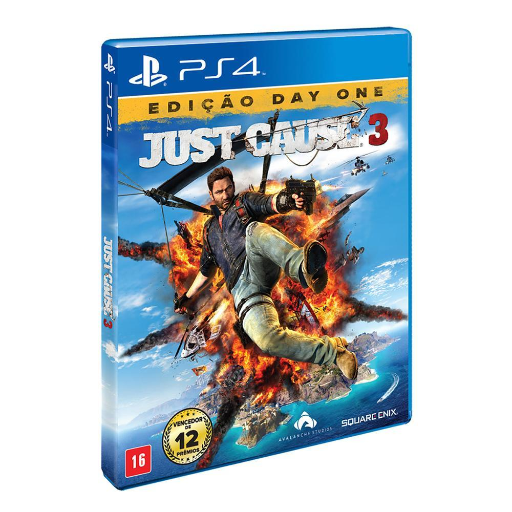 Just Cause 3 - PS4  - FastGames - Gamers levados a sério