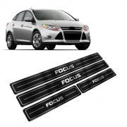 Adesivo Soleira Resinada Ford Focus Hatch/Sedan Até 2013 4 Portas