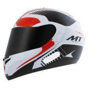 Capacete Mt Helmets Optimus Quest Black Red (58)