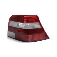 Lanterna Traseira Volkswagen Golf 98 99 00 01 02 03 04 05 06 Bicolor Com Seta Cristal (Lado Direito - Passageiro)