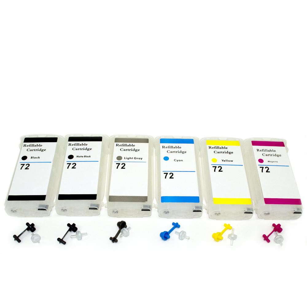 Cartuch�o Bulk Ink  T610 T1100 T1200 T710 T770 T620 T790 T795 T1120 T1300 T2300 T1120 HP72