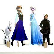 Kit Cen�rio Display De Ch�o Frozen com 4 Pe�as - 3mm