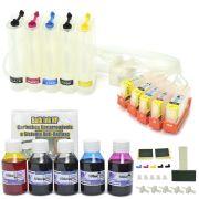 Bulk Ink com Cartuchos Recarreg�veis com Sistema Anti-Refluxo