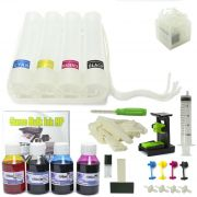 Bulk Ink HP com Anti-Refluxo, Snap Fill, Verruma e Tinta