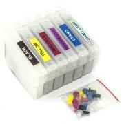 Cartuchos Recarregáveis para impressora Epson T60 (Vazios)