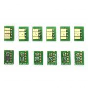Chip Full para Cartucho Recarreg�vel HP T610, T620, T770, T1100 e T1120 (Jogo com 6 Chips)