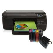 Impressora HP8100 com Bulk Ink + 400ml de Tinta