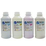 Kit 4 Litros de Tinta Sublim�tica Epson para Impressora (1L de cada cor)