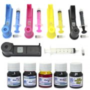 Snap Fill para Cartuchos HP 564, 670 e 920 + 150ml de Tint