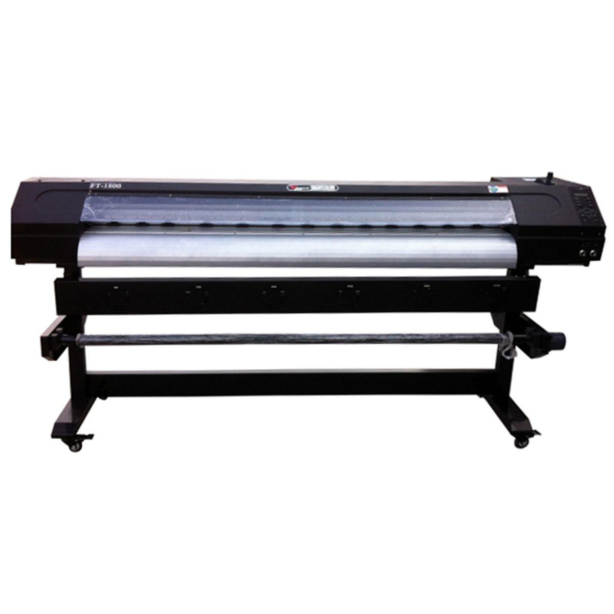 Plotter de Impressão Digital 1,80m Eco Solvente Cabeça DX5