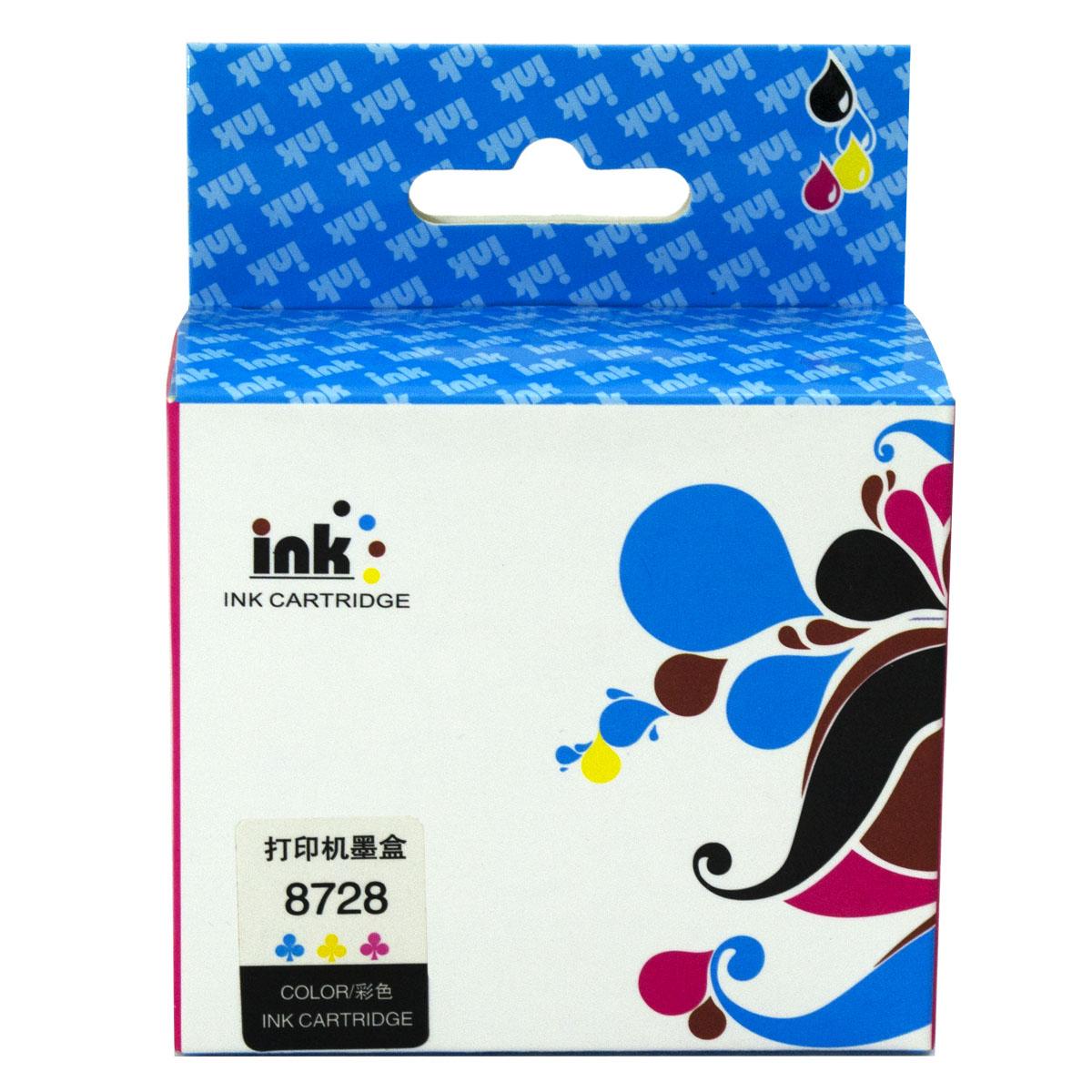 Cartucho Remanufaturado de Tinta HP 28 Colorido