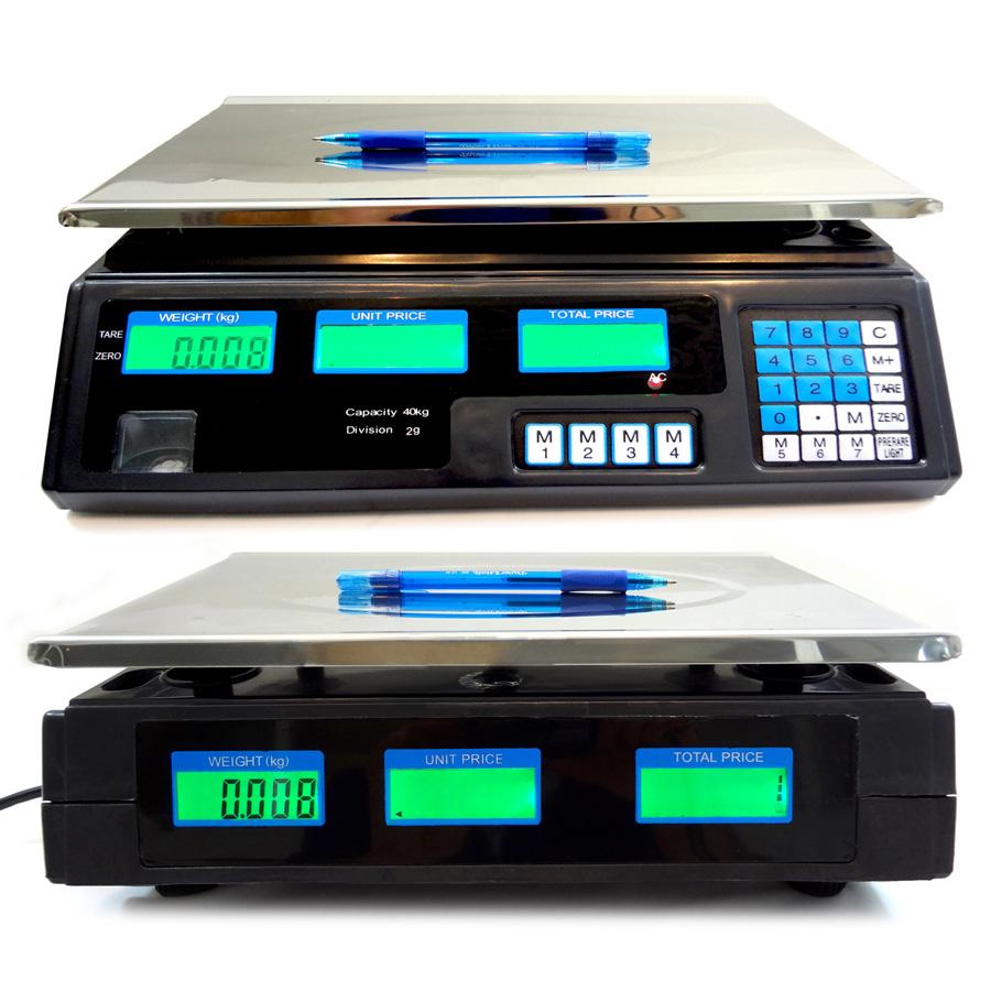 Balança Eletrônica Digital 40kg Alta Precisão Residencial