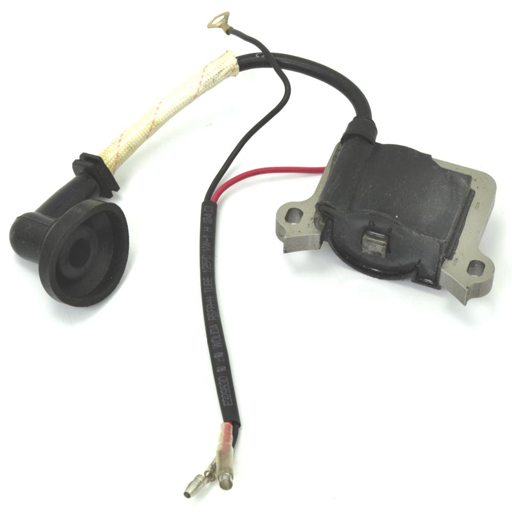 Bobina Elétrica (Módulo de Ignição) para Roçadeira a Gasolina de 43cc e 52cc (4 em 1)