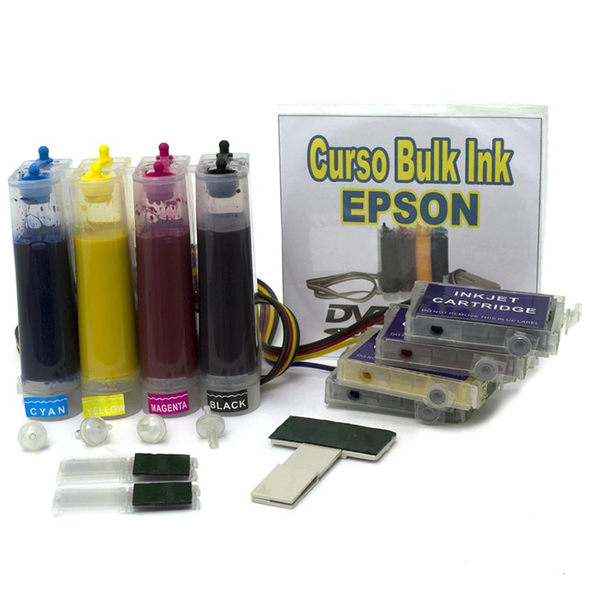 Bulk Ink com Tinta Corante para modelos de impressora EPSON TX400 e TX410