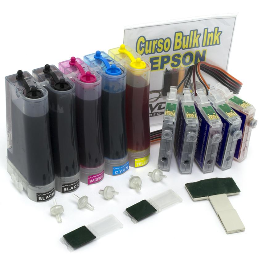 Bulk Ink para impressora Epson com Tinta Corante para o modelo T33