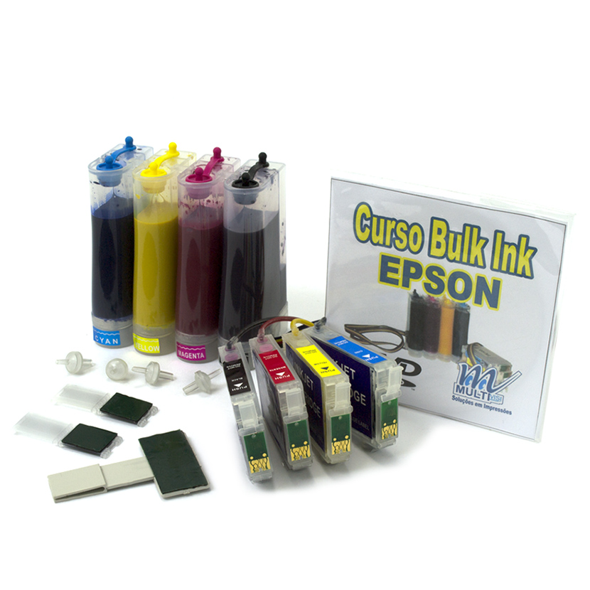 Bulk Ink para impressoras Epson Tinta Sublimática para modelos: TX400 e TX410