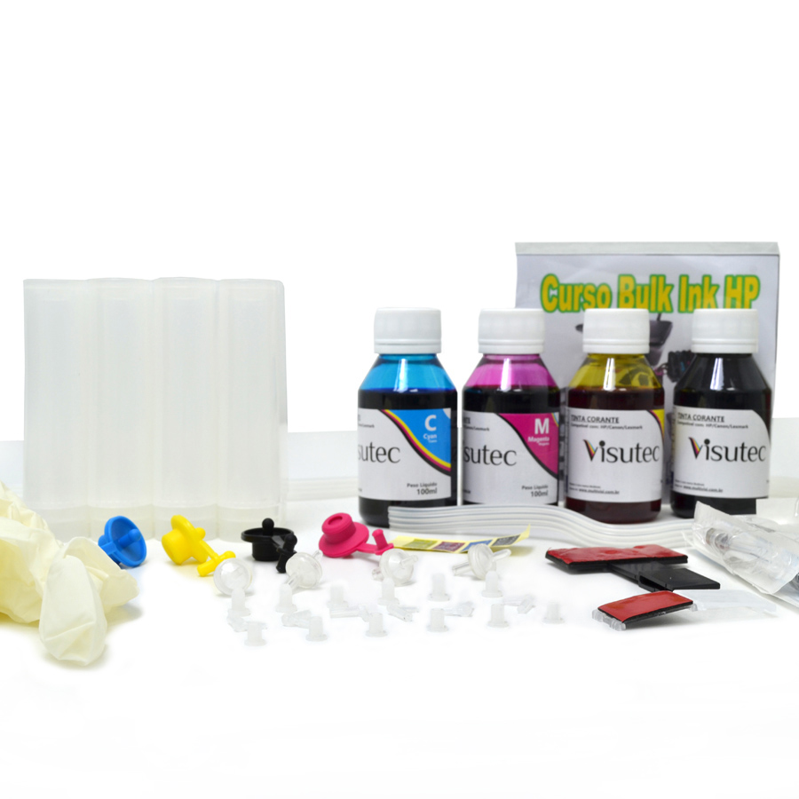 Bulk Ink HP + 400ml de tinta