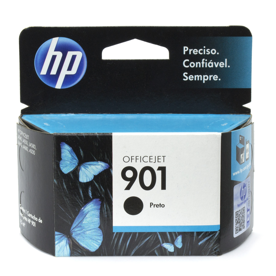 Cartucho 901 Original HP Preto