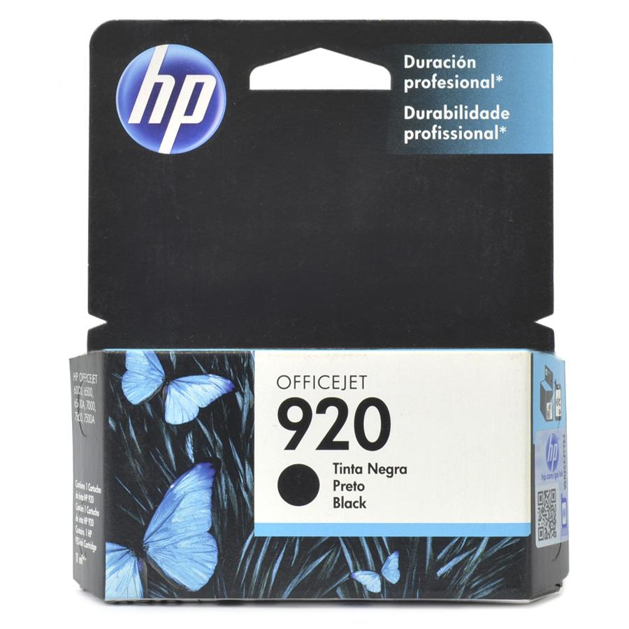 Cartucho 920 para HP6000 e HP6500 Preto Adaptado para Bulk Ink