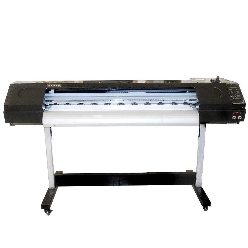 Plotter de Impressão Digital 1,30m Eco Solvente MV1300 Cabeça DX7 COMPLETA