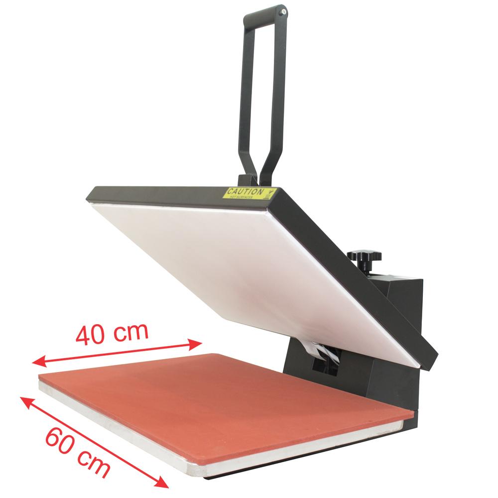 Prensa Térmica Plana 40x60cm para Sublimação  - Visutec