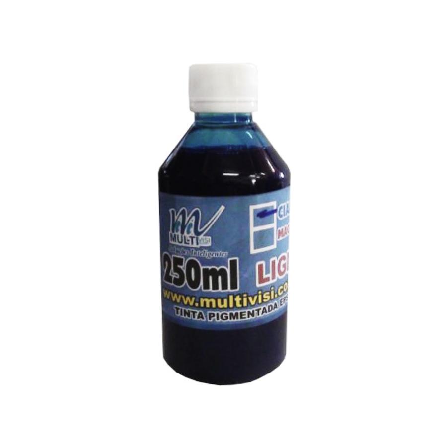 Tinta Pigmentada Ciano Light para Epson e Brother (250ml)