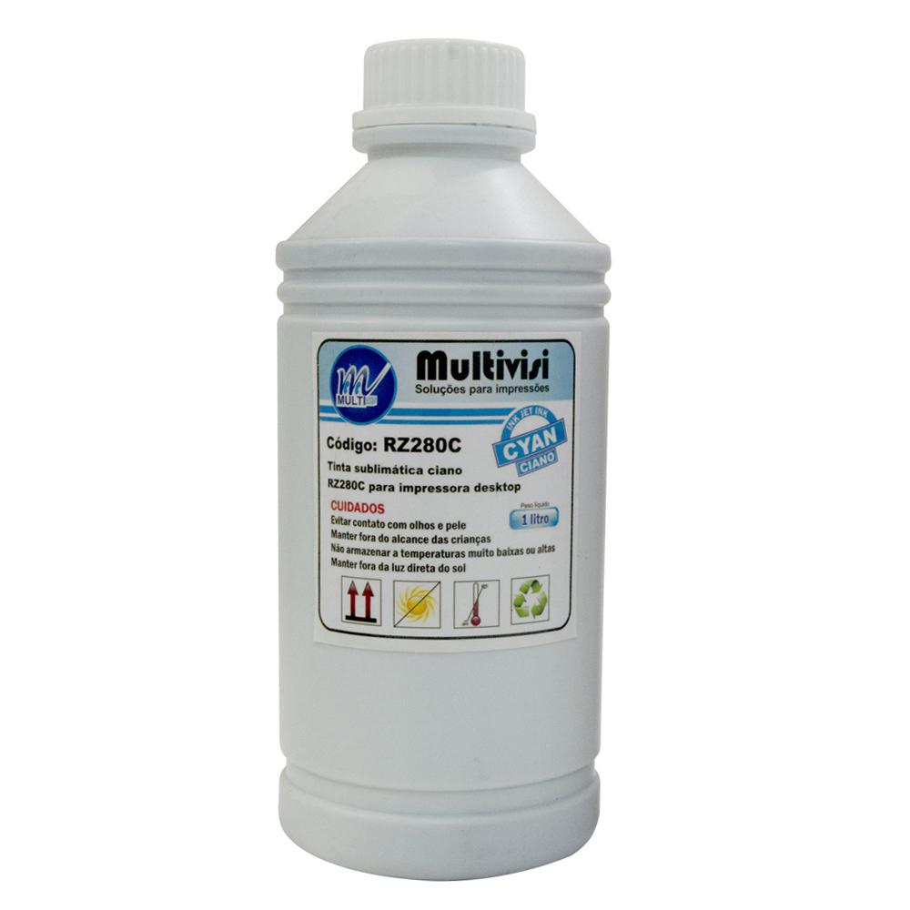 Tinta Sublim�tica Ciano Epson Ink Bank para Impressora (1 Litro)