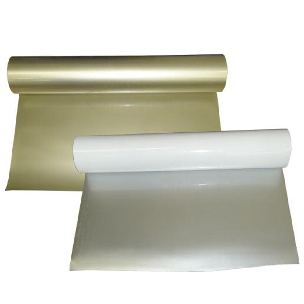 Vinil Transfer Dourado ou Prata  (Rolo de 5 Metros)
