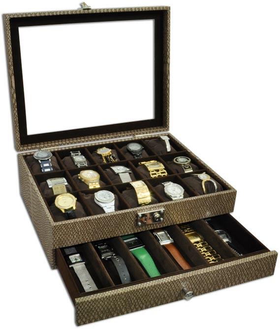 a05dd6471a6 Expositor duplo para relógios - Estojoias Embalagens para Joias ...