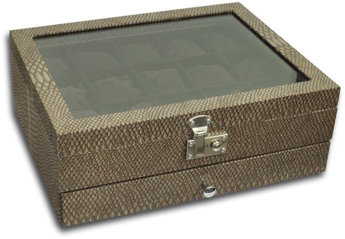 1f92f51766e ... Expositor duplo para relógios - Estojoias Embalagens para Joias ...