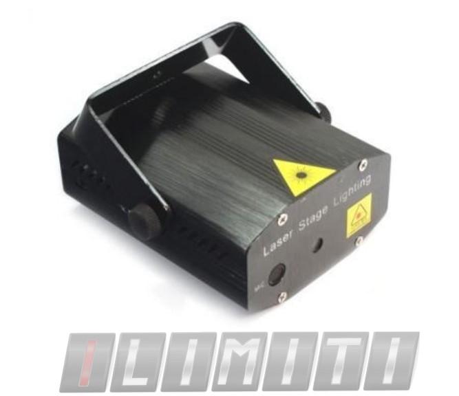 Mini Projetor Laser Holografico C/efeitos Especiais 3d Festa - ILIMITI SHOP