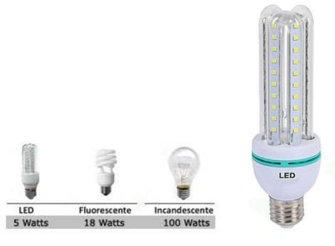KIT10Lâmpadas Super Led 5w Econômica Bivolt E27 Branco Frio 6000k - ILIMITI SHOP