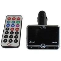 Transmissor Fm Veicular Mp3 Knup Cartão Sd Usb Navega Pastas - ILIMITI SHOP