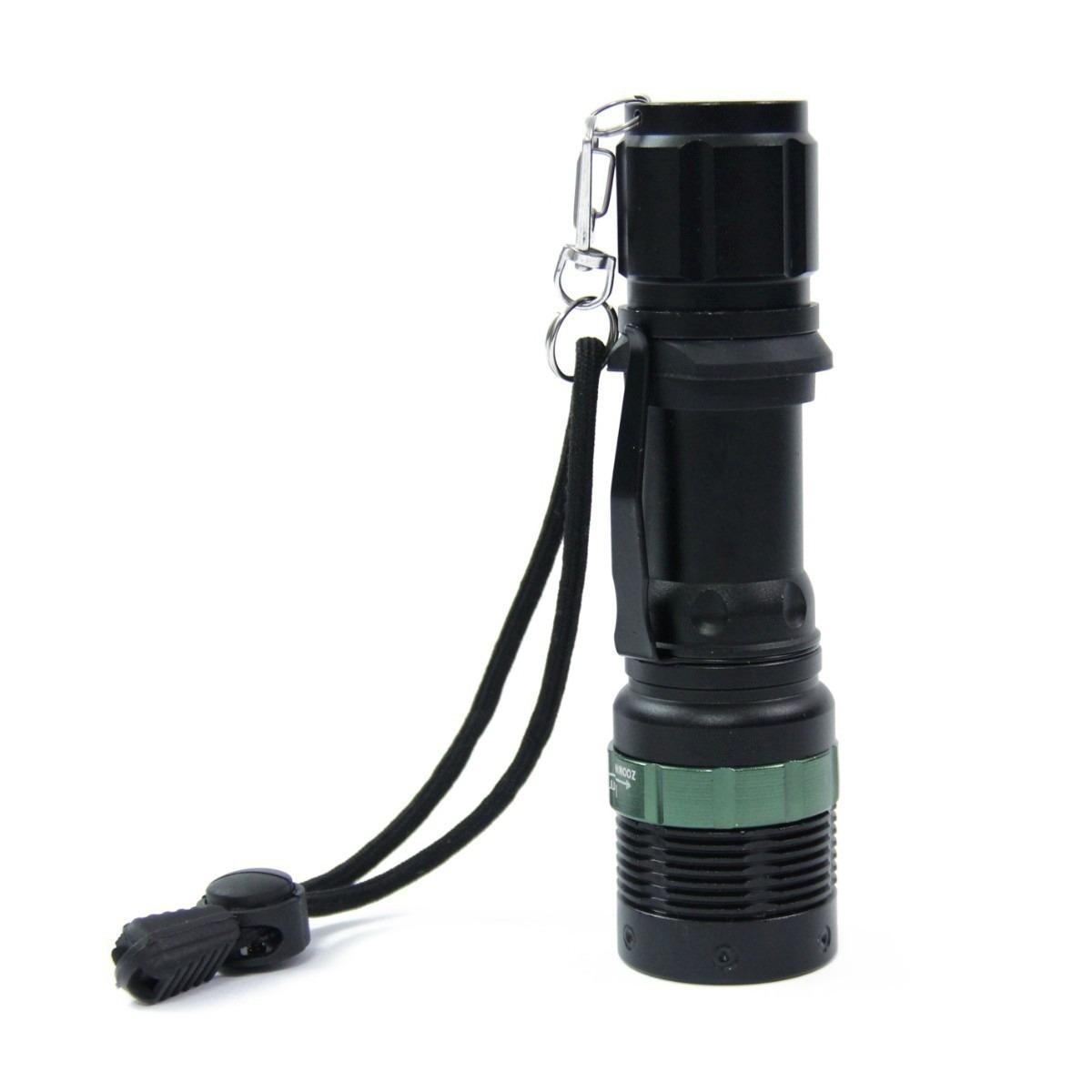 Kit Mini Lanterna Tática Profissional Recarregável 54000 Lms - ILIMITI SHOP