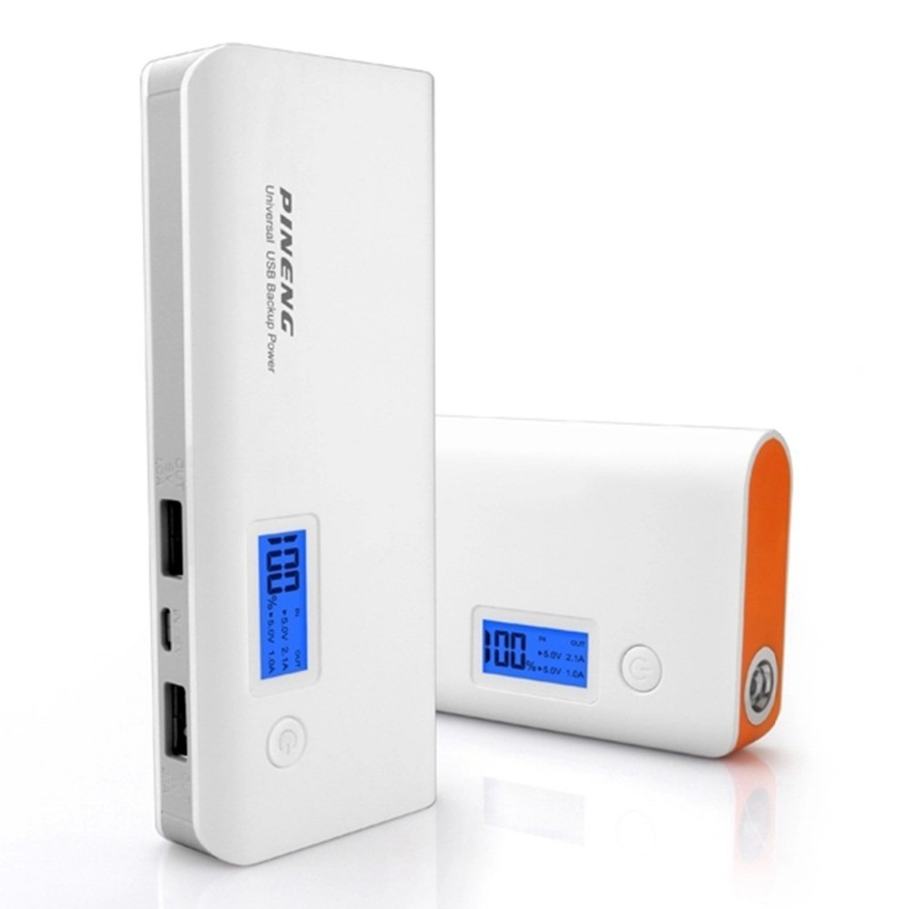 Carregador Portátil Power Bank 10000mah Pineng  - ILIMITI SHOP