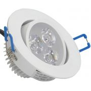 Lampada Spot Aluminio Led 3w Branco Frio 6000k - ILIMITI SHOP