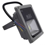 Refletor Led 10w - Holofote Branco Frio - Ip66 Bivolt Slim - ILIMITI SHOP