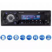Auto Rádio Multilaser Talk P3214 Bluetooth Mp3 Fm Usb Sd Aux - ILIMITI SHOP