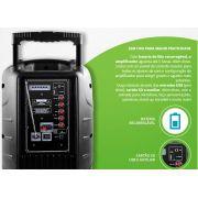 Caixa De Som Amplificada Com Alça 150w Rms Trolley MULTILASER - ILIMITI SHOP