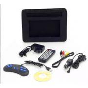 Dvd Player Portátil Multilaser Au710 Tela 7' Usb E Cartão Sd - ILIMITI SHOP