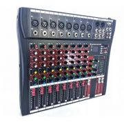 Mesa De Som Bluetooth Usb Mixer Mp3 Digital 8 Canais Le711 - ILIMITI SHOP