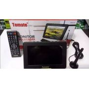 Tv Portátil Led Monitor Tv Digital 7 Pol Micro Sd C/ Antena7 - ILIMITI SHOP