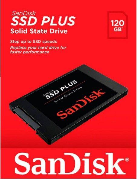 Hd Ssd Sandisk Plus 120gb  - ILIMITI SHOP