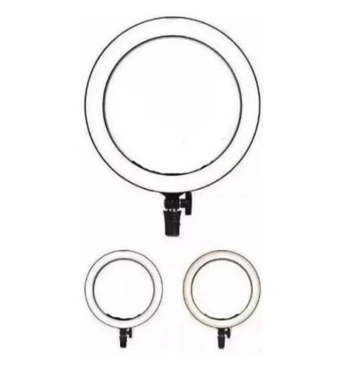 Iluminador Ring Ligth Anel Luz 26cm Led Fotos Make Somente o Aro  - ILIMITI SHOP