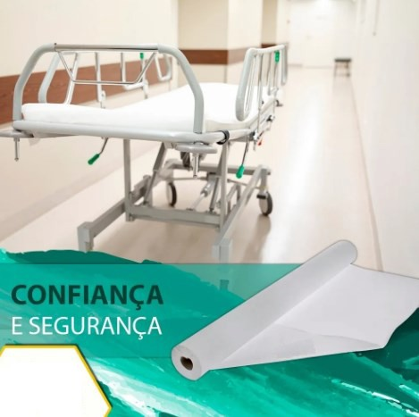 Lençol Descartavel Papel Hospitalar Maca 70x50 Cx 10 Rolos - ILIMITI SHOP