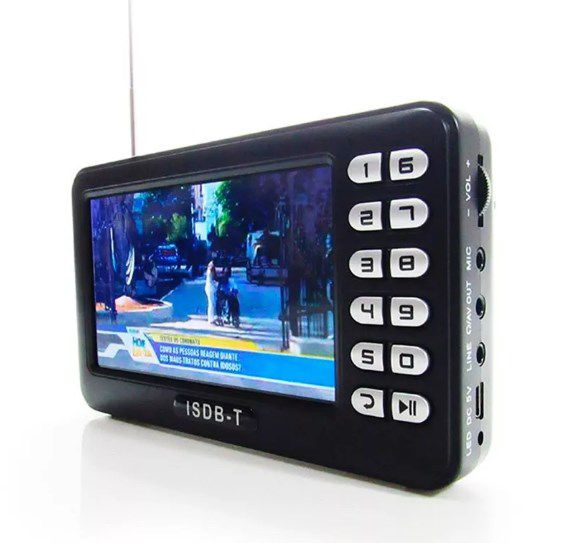 Mini Tv Digital Mobile Com Fm Tela De 4.3 Polegadas - ILIMITI SHOP