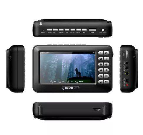 Mini Tv Digital Mobile Com Fm Tela De 4.3 Polegadas - ILIMITI SHOP